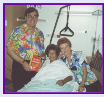 Photo: Patricia and Shayne with Patient